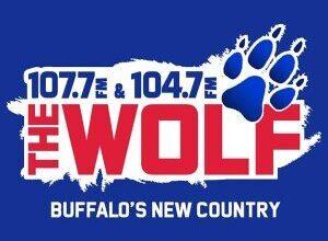 The Wolf Radio Station Logo